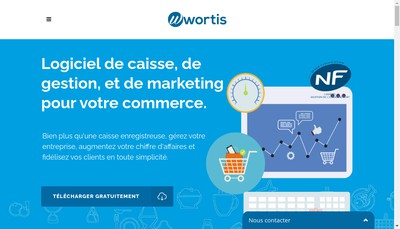 Site internet de Wortis