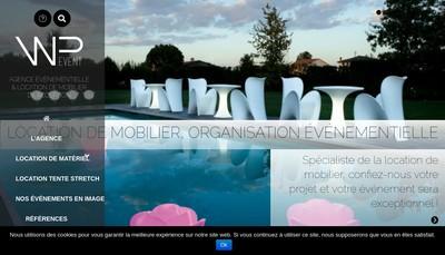Site internet de Wp Event