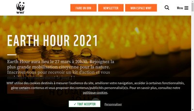 Site internet de Wwf France