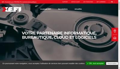 Site internet de Xefi Lyon