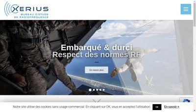 Site internet de Xerius