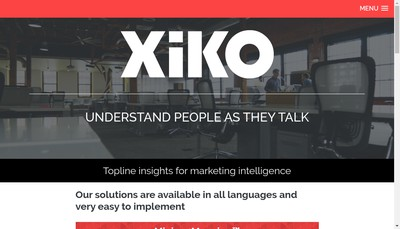 Site internet de Xiko