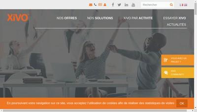 Site internet de Xivo