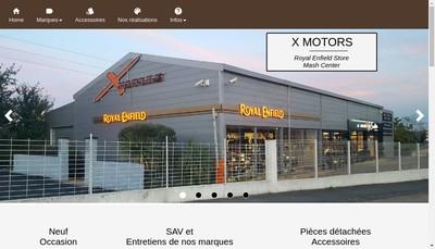 Site internet de X Motors