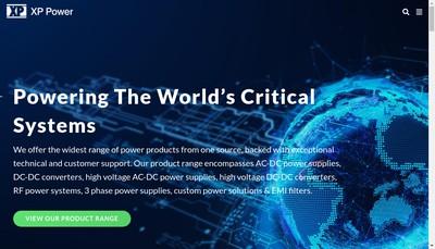 Site internet de Xp Power SA