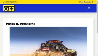 Site internet de Xtreme Plus