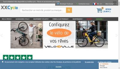 Site internet de Xxcycle Com