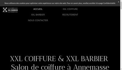 Site internet de Coiffure Xxl