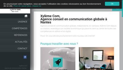 Site internet de Xyleme Communication