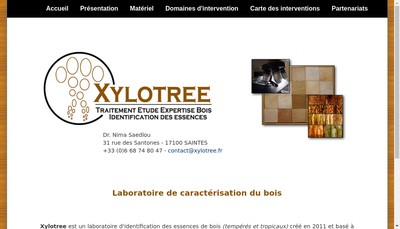 Site internet de Xylotree
