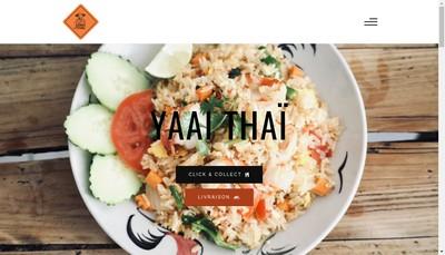 Site internet de Yaai Thai