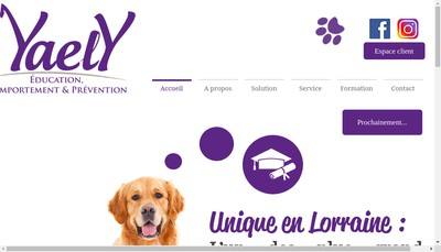 Site internet de Yaely
