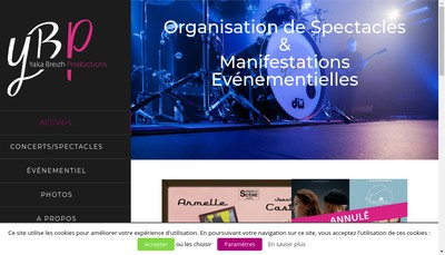 Site internet de Yaka Breizh Production