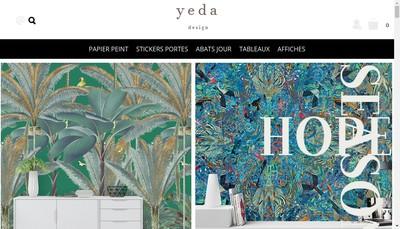 Site internet de Yeda Design, Ecoloria
