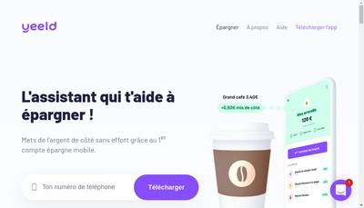 Site internet de Yeeld