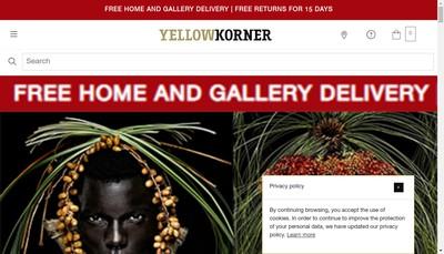 Site internet de Yellow Korner