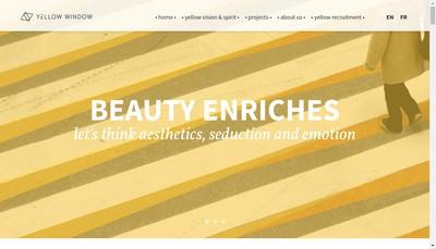 Site internet de Yellow Window Consultants