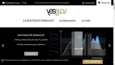 Site internet de Yesforlov