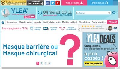 Site internet de Ylea Entreprise
