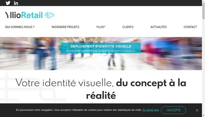 Site internet de Yllioretail