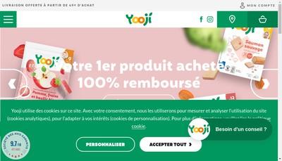 Site internet de Yooji
