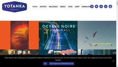 Site internet de Yotanka Productions