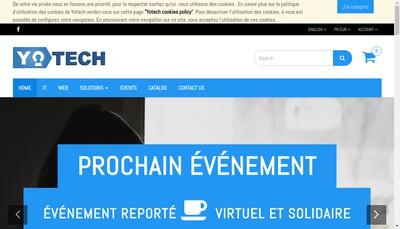 Site internet de Yotech