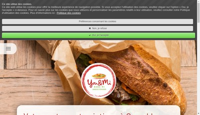 Site internet de You And Mi
