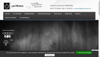Site internet de EURL Foraison