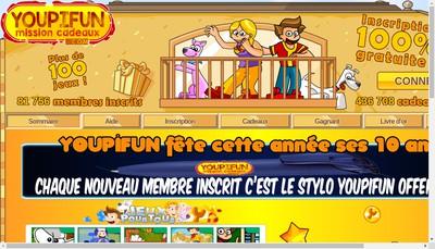 Site internet de Youpifun