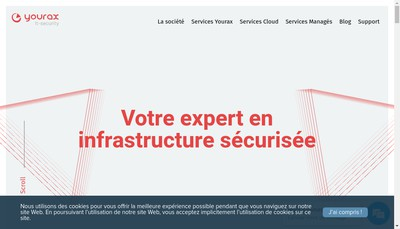 Site internet de Yourax