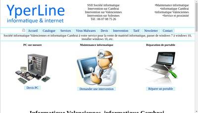 Site internet de Yperline