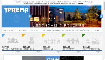 Site internet de Yprema