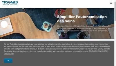 Site internet de Ypsomed