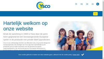 Site internet de Ysco France