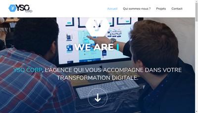 Site internet de Yso Corp