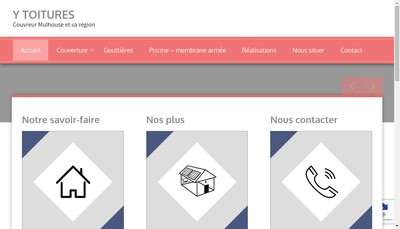 Site internet de Y Toitures