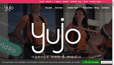 Site internet de Yujo