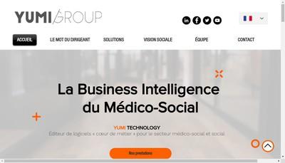Site internet de Yumi Technology
