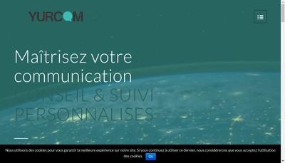 Site internet de Yurcom
