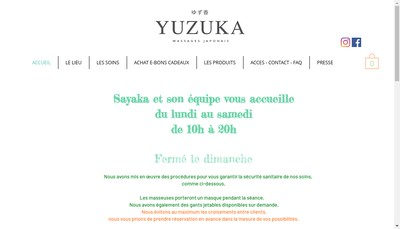 Site internet de Yuzu Ka
