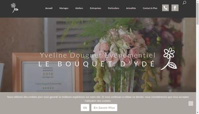Site internet de Yveline Douguet Evenementiel
