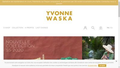 Site internet de Yvonne Waska