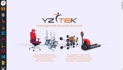 Site internet de Yzytek