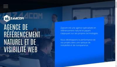 Site internet de Zaacom