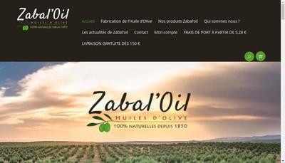 Site internet de Zabal'Oil