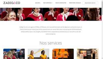Site internet de Zadig&Co