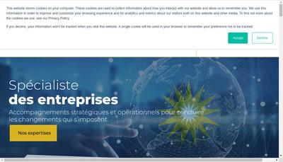 Site internet de Zalis