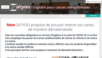 Site internet de Zatyoo
