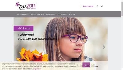 Site internet de Zazzen